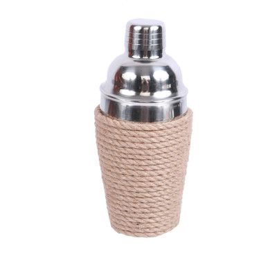 DEI Latitude 38 Rope Wrapped Cocktail Shaker