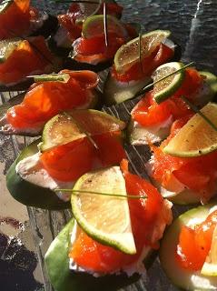 Gravlax saumon et sirop d'érable et vodka