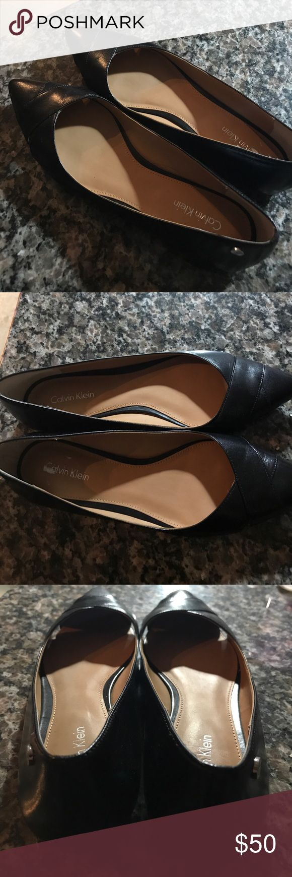 Calvin Klein Flats Never worn. Size 7. Calvin Klein Shoes Flats & Loafers