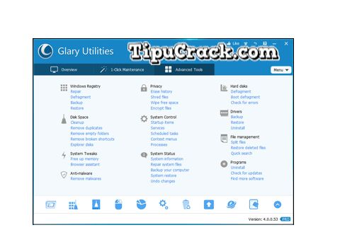 Glary Utilities Pro 5.71 Key will easily plays a very vital role for keeping the performance of computer more good. So download it from our site.