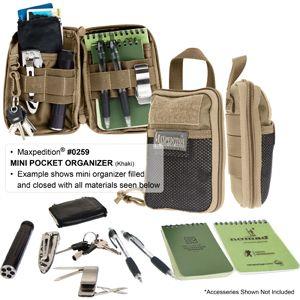 Mini Pocket Organizer! Black Please!