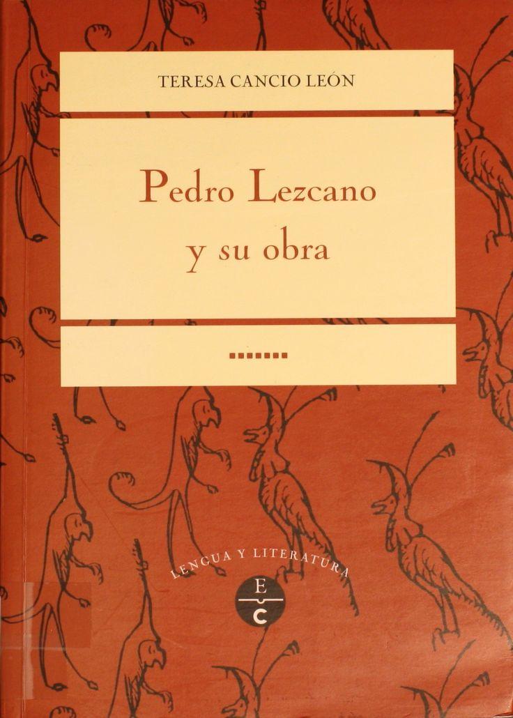 Pedro Lezcano y su obra / Teresa Cancio León. -- 2ª ed. http://absysnetweb.bbtk.ull.es/cgi-bin/abnetopac01?TITN=213756