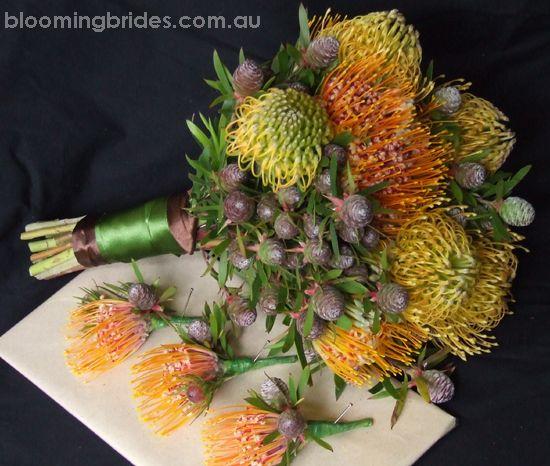Love, love, love. Beautiful native Australian flower bouquet