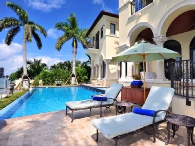 Miami Villa Rental Stella Luxurious Situated On The Fabulous Palm Island Florida