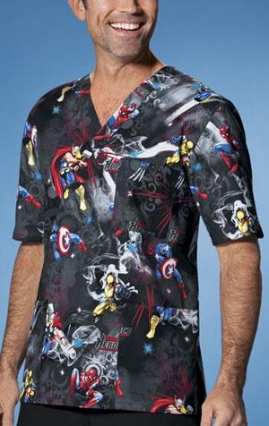 1ef9ce62ae9 Marvel Heroes, Captain America, Spiderman, Wolverine, Thor #scrubs #nurses  #doctors #men #nursing #tooniforms | Nursing | Scrubs uniform, Scrubs, ...