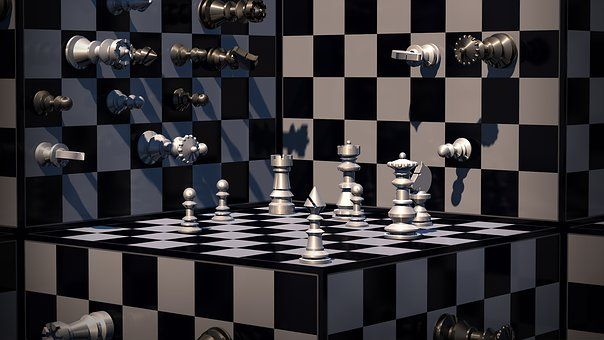 Learn How To Castle Queen Side 3d Chess Chess Board Israeli Flag