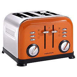 I have this! - Morphy Richards 44799 Accents 4 Slice Toaster - Orange