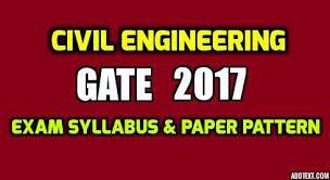 GATE 2017 Civil Engineering Syllabus, Study Material https://onlinetyari.com/gate/ce-civil-exam-i56.html #GATE 2017 #onlinetyari