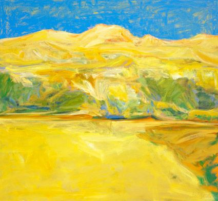 © Jo Bertini ~ Pantoowarinna Sandhills ~ 2011 oil on canvas at Tim Olsen Gallery Sydney Australia