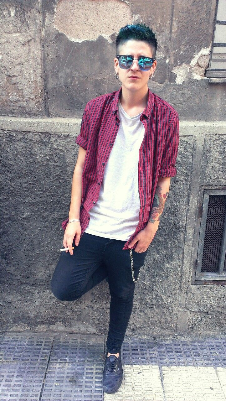 ... [Stud/Butch/Tomboi] on Pinterest Androgynous style, Studs and Swag