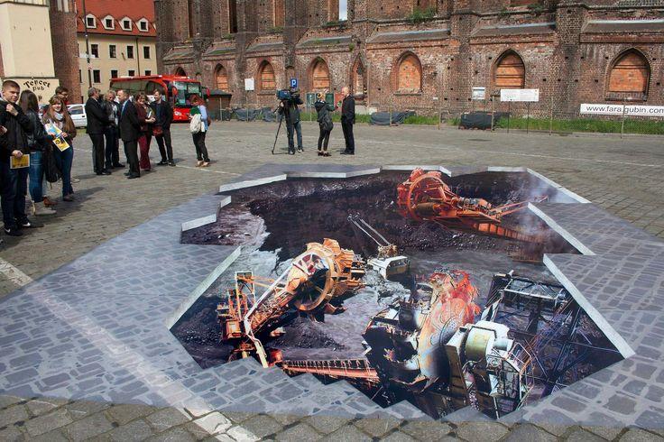 3D Painting _Gubin/PL - Greenpeace