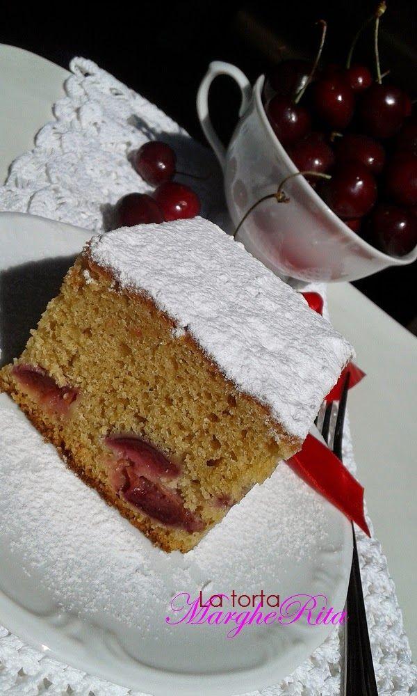 Torta di ciliegie allo zucchero muscovado
