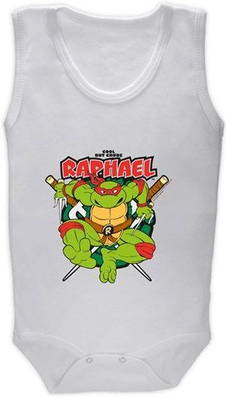 Ninja Kaplumbağalar - Raphael Kendin Tasarla - Bebek Zıbın