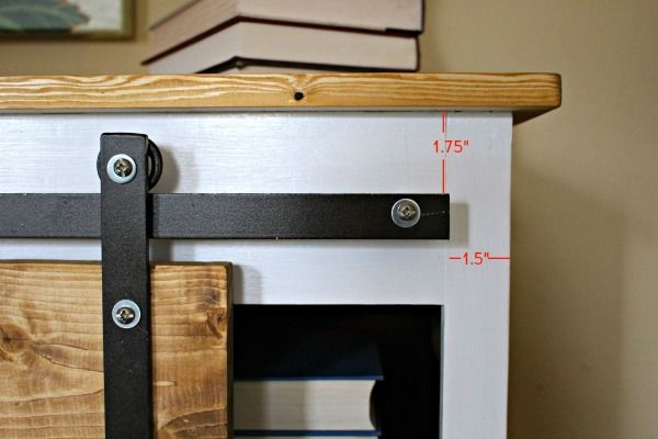 Sliding Door Console Table {Tutorial} - East Coast Creative Blog