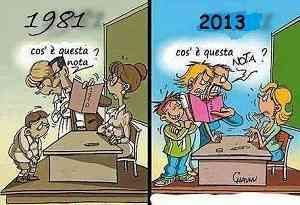 Vignetta sulla scuola