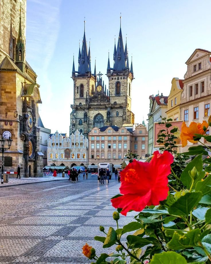 """""""Old Town Square: The magical ❤ of Prague . . …"""