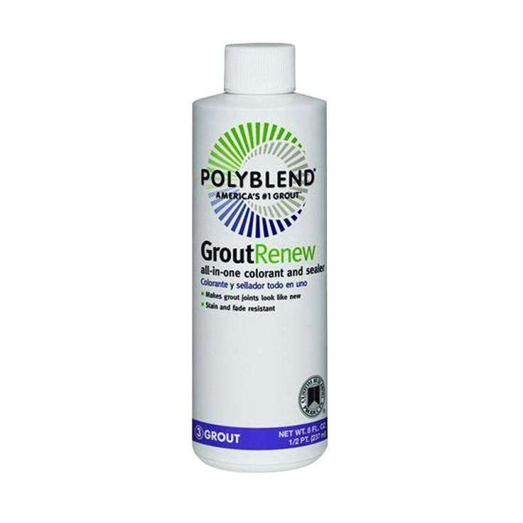 Custom Building Products Polyblend #11 Snow White 8 oz. Grout Renew Colorant-GCL11HPT - The Home Depot