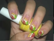Nail Design Tutorial: Colorful Summer French Nails