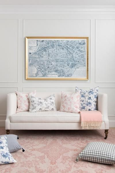 simone rug in blush