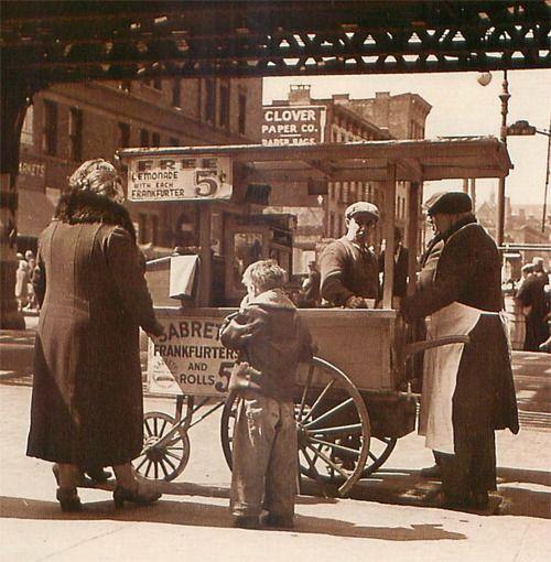 Sabrett Hot Dog Cart History