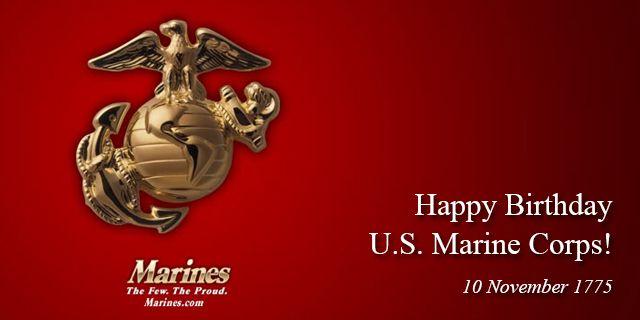 AMERICAN FREEDOM by BARBARA: HAPPY BIRTHDAY US MARINE CORPS!!!!