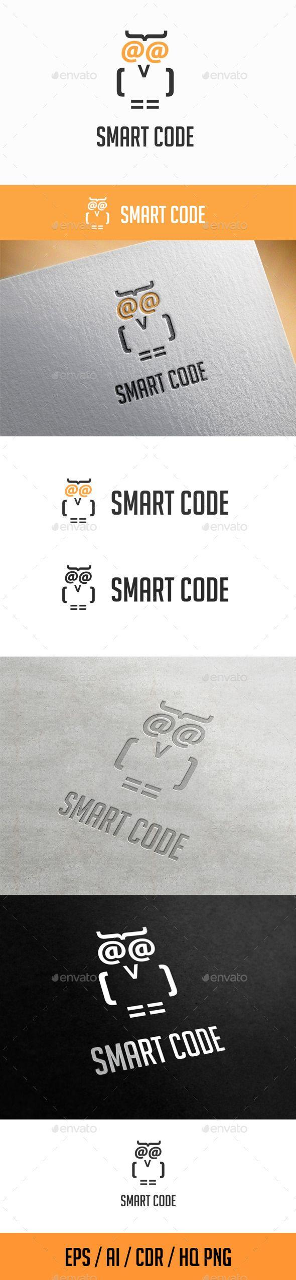 Smart Code Logo Template