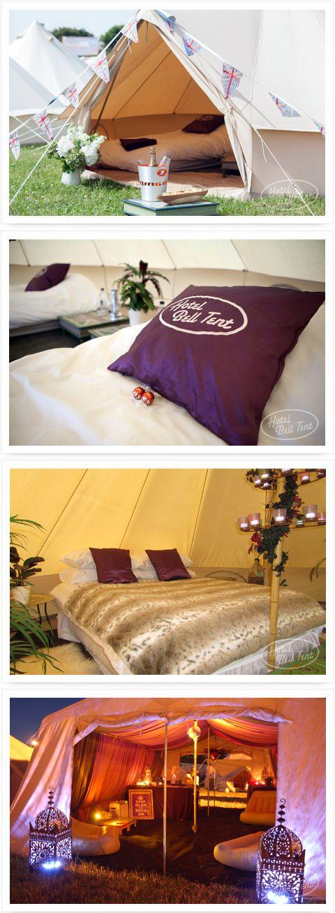 Hoe cool is het als jullie gasten ook overnachten in een tent? :-)