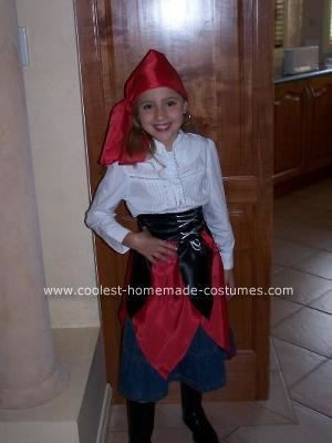 39 Best Images About Costumes On Pinterest Homemade  sc 1 st  Meningrey & Homemade Pirate Costume Girl - Meningrey