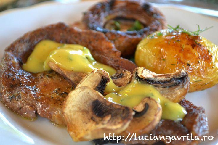 Sos de muștar cu tarhon / Mustard and tarragon sauce