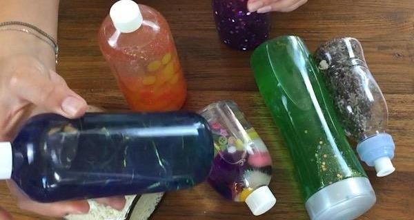 Come fare in casa delle bottiglie sensoriali | Video tutorial