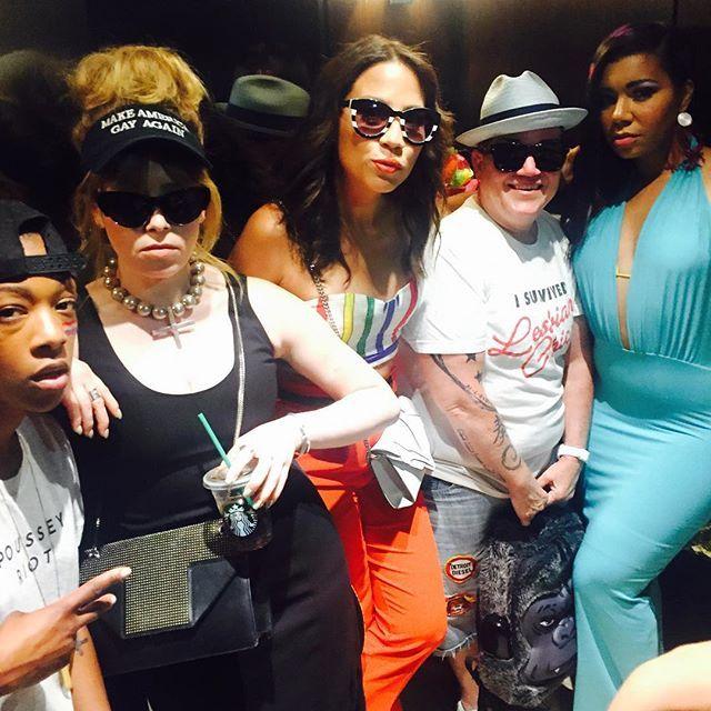 Orange is the New Black - Samira Wiley, Natasha Lyonne, Elizabeth Rodriguez, Lea DeLaria, and Jessica Pimental
