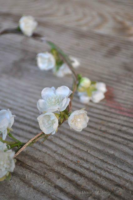 DIY Flower Crown, such a great tutorial