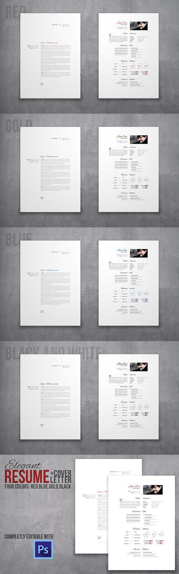 Resume and cover letter set 817 best