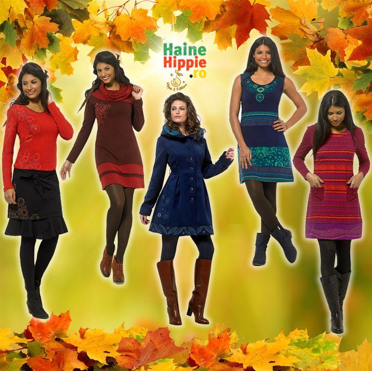 Iubim toamna ❤  Împărtăşim cu voi bucuria noii colecţii Haine Hippie! (y) www.hainehippie.ro/55-noutati