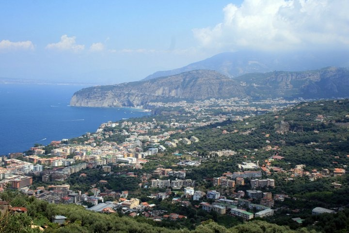 Sorrento from above