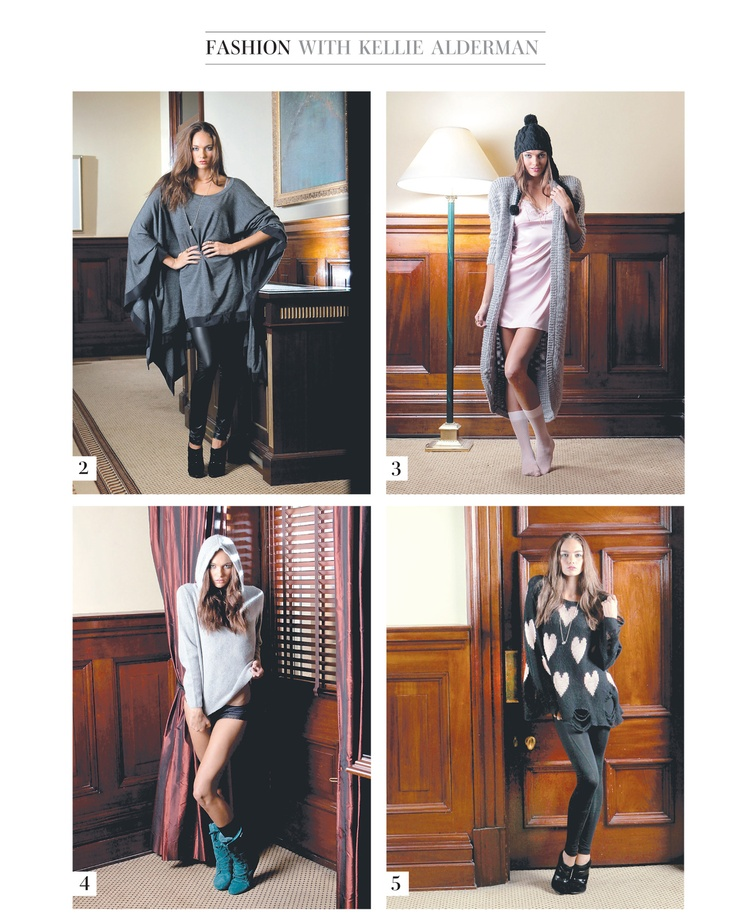 NOOKIE 'The Wanderers Knit Cardigan' in SUNDAY MAIL