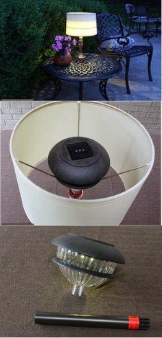Solar Lamp ~ via Top This Top That