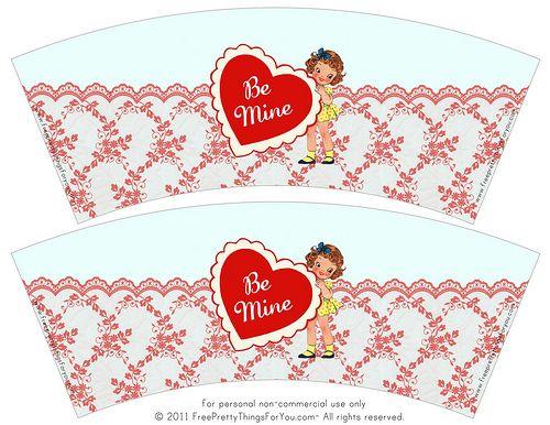valentine's day door tags