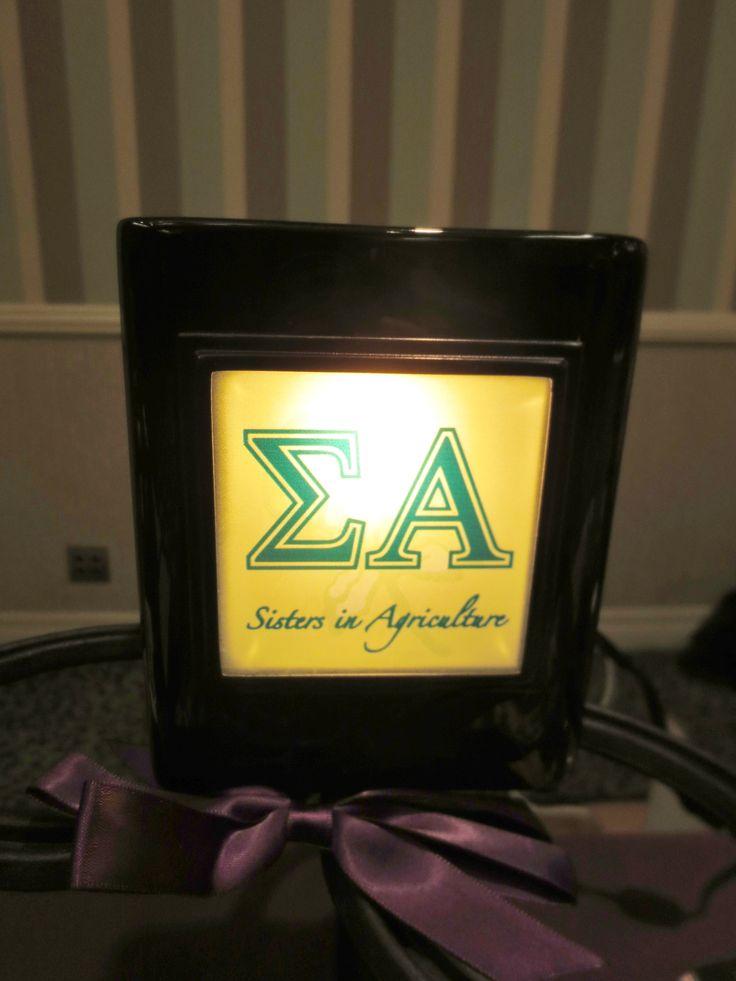 Sigma Alpha Scentsy Candle Sisterhood Ea Pinterest