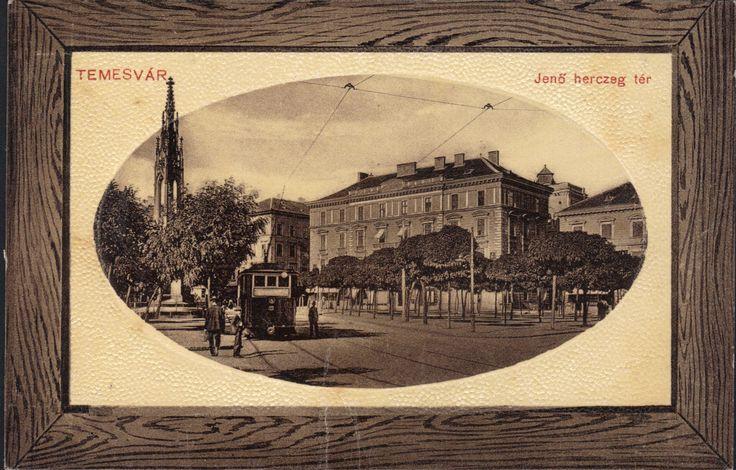 Timisoara - Piata Libertatii / Jano herczeg ter 1919 (A1-3)