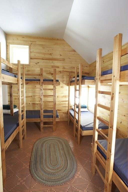 8 person bunkhouse, one of tons of varieties