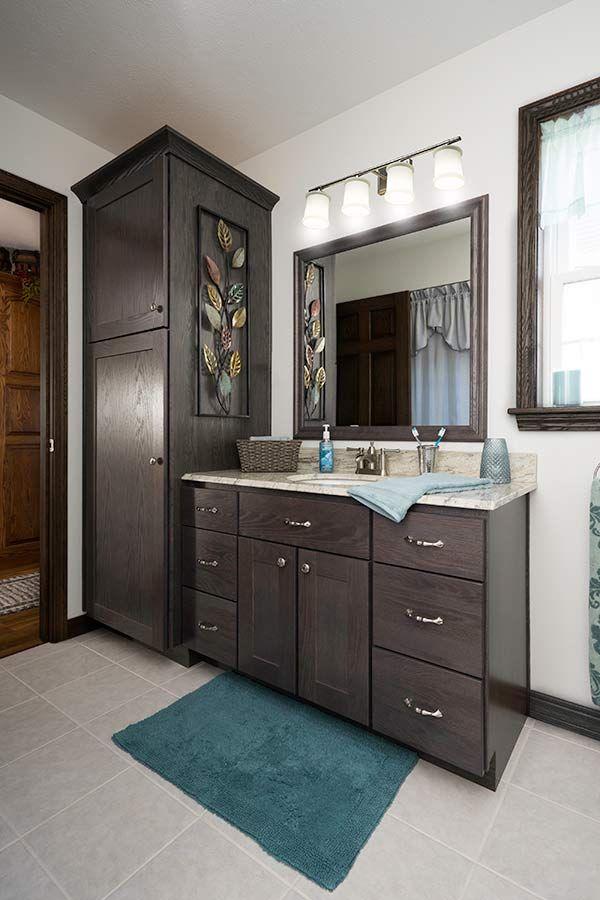 Milford In Jamestown Driftwood Oak Bathroom Cabinets Pinterest Driftwood Bathroom