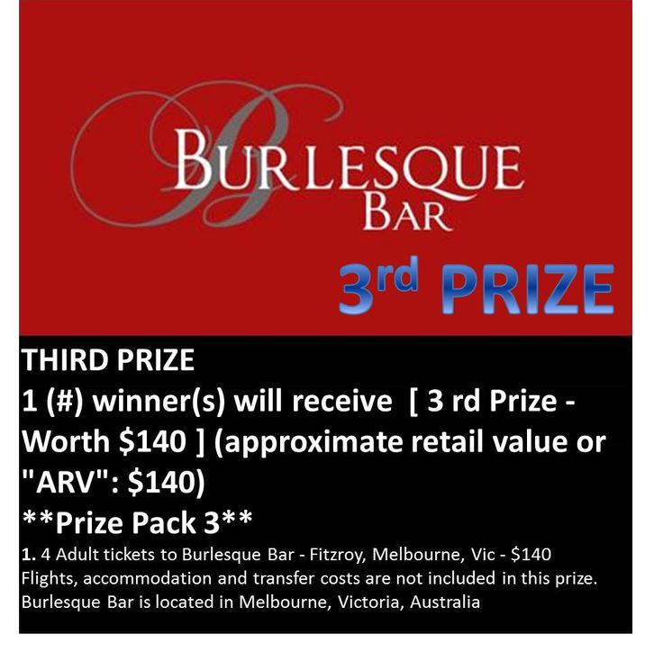 Win these tickets worth $140 See https://www.facebook.com/nicsbuttonbuds/app_228910107186452 for more details Ends July 7th 2013