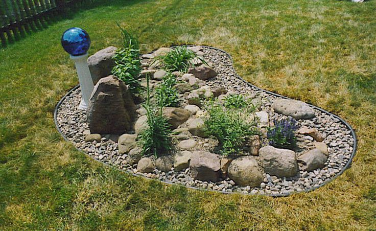 Image detail for rock gardens can be very unique and as for Very small garden ideas