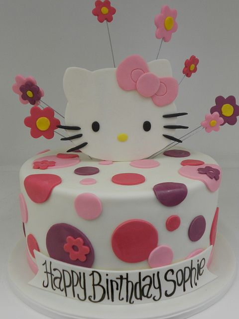 Hello Kitty Birtrhday Cake