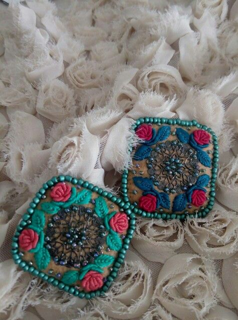 #handmade#brooch#embroidery