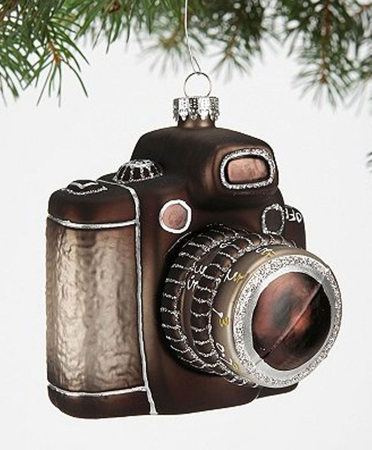 Superb Camera Christmas Tree Ornament Part - 5: Holiday Gift Guide: 10 Striking, Unique Christmas Ornaments