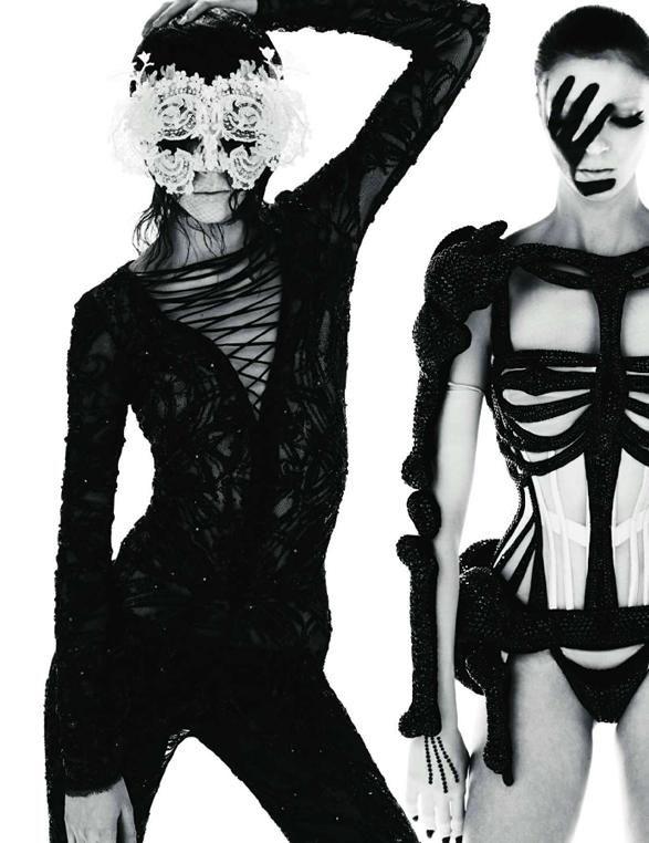 Mert Alas & Marcus Piggott - Photographer  Carine Roitfeld - Fashion Editor/Stylist