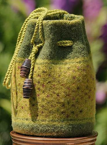 Constant Companion, Felted Bags, Knitted Bag, Bag Pattern, Tote Pattern, Felted Tote, Felted Purse