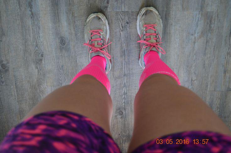 Blog over de compressiekous en hoe je die draagt onder de huidige hardloopkleding